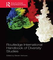Routledge International Handbook of Diversity Studies PDF
