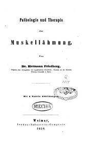 Pathologie und Therapie der Muskellähmung
