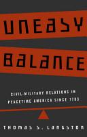 Uneasy Balance PDF