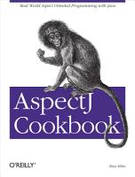 AspectJ Cookbook PDF