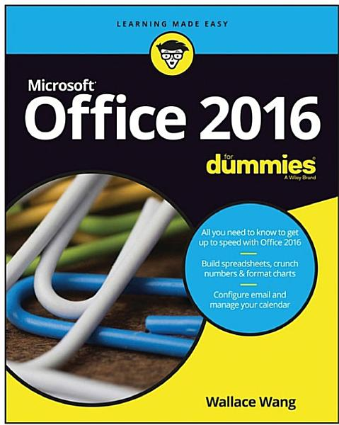 Office 2016 For Dummies PDF