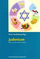 Judentum: alles, was wir wissen müssen ; Kopiervorlagen für die Grundschule
