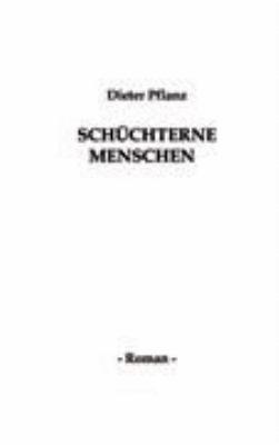 Sch  chterne Menschen PDF