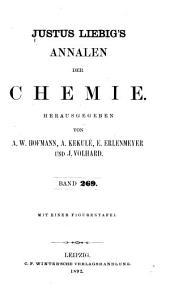Justus Liebigs Annalen der Chemie: Bände 269-270
