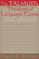 Talmud s Theological Language Game  The PDF