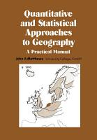 Quantitative and Statistical Approaches to Geography PDF