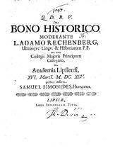 De Bono Historico