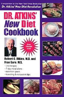 Dr  Atkins  New Diet Cookbook Book