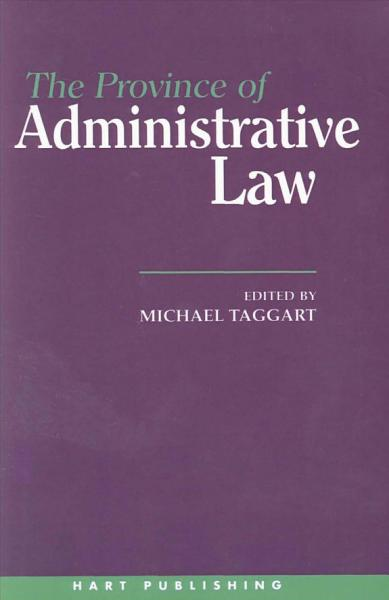 The Province of Administrative Law PDF