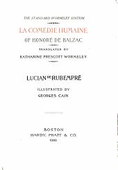 Lucien de Rubempré. Ferragus. The Duchesse de Langeais
