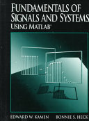 Fundamentals of Signals and Systems Using MATLAB PDF