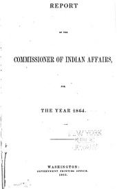 Annual Report of the Commissioner of Indian Affairs
