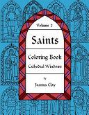 Saints Coloring Book: