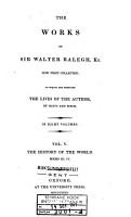 The Works of Sir Walter Ralegh PDF