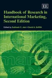 Handbook of Research in International Marketing
