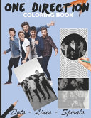 One Direction Dots Lines Spirals Coloring Book