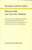 Bibelautorit  t und Geist der Moderne PDF