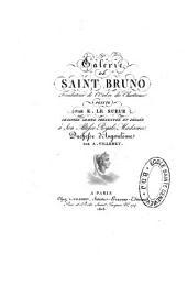 Galerie de saint Bruno, fondateur de l'ordre des Chartreux peinte par E. Le Sueur