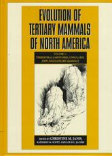 Evolution of Tertiary Mammals of North America  Volume 1  Terrestrial Carnivores  Ungulates  and Ungulate Like Mammals PDF