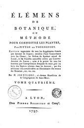 Élémens de botanique, ou, Méthode pour connoitre les plantes: Volume5