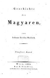 Geschichte der Magyaren: Band 5