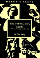 The Butler Did It  Again  PDF