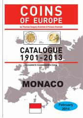 Coins of MONACO 1901-2014: Coins of Europe Catalog 1901-2014