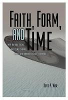 Faith  Form  and Time PDF