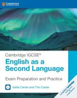 Cambridge IGCSE   English as a Second Language Exam Preparation and Practice with Audio CDs  2  PDF