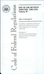 Code of Federal Regulations  Titles 42 through 50 PDF