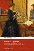 Reframing Japonisme PDF