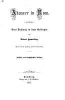 Ahasver in Rom PDF
