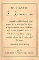 The Gospel of Sri Ramakrishna Book