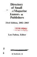 Small Press Record of Books In Print 2008 2009 PDF