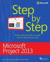 Microsoft Project 2013 Step by Step PDF