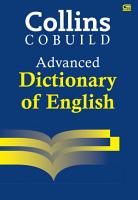 Collins Cobuild Advanced Dictionary of English PDF