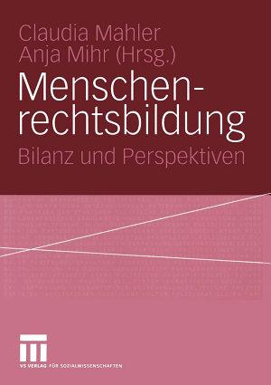 Menschenrechtsbildung PDF