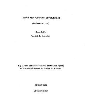 Shock and Vibration Environment PDF