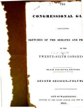 The Congressional Globe: Volume 9
