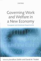 Governing Work and Welfare in a New Economy PDF