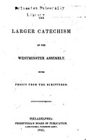 The Larger Catechism of the Westminster Assembly PDF