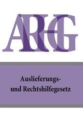 Auslieferungs- und Rechtshilfegesetz - ARHG