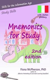 Mnemonics for Study: Italian edition