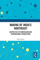 Making of India s Northeast PDF
