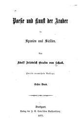 Poesie und Kunst der Araber in Spanien und Sicilien: Bände 1-2