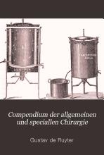 Compendium der allgemeinen und speciallen Chirurgie v 1  1903 06 PDF