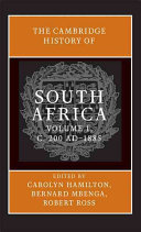 The Cambridge History of South Africa PDF