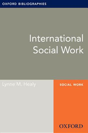 International Social Work  Oxford Bibliographies Online Research Guide PDF