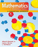 Math For Elementary Teachers A Conceptual Approach With Manipulative Kit Mathematics For Elementary Teachers Book PDF