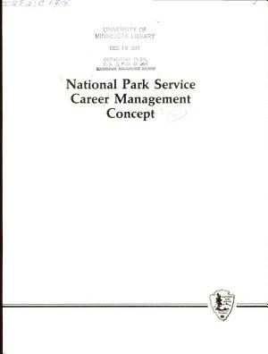 National Park Service Career Management Concept